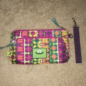 Lily Blossom Clutch with optional wristlet strap